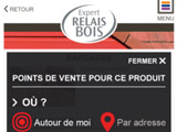 Application mobile Expert Relais Bois, résolument pratique !